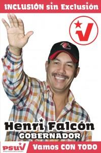 Recordar es vivir, Henri Falcón PSUV